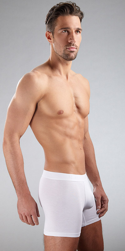HUGO BOSS BALANCE Pima Cyclist Boxer Briefs