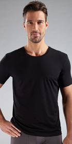 HUGO BOSS BALANCE Pima Crew Neck Shirt