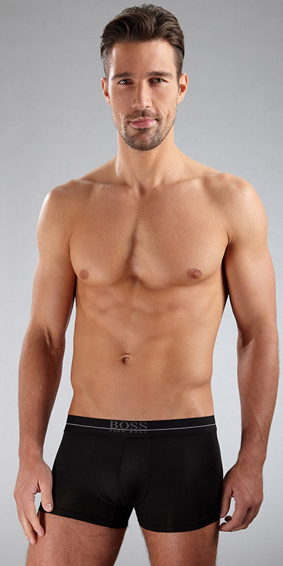 HUGO BOSS ENERGY Microfiber Stripe Trunk