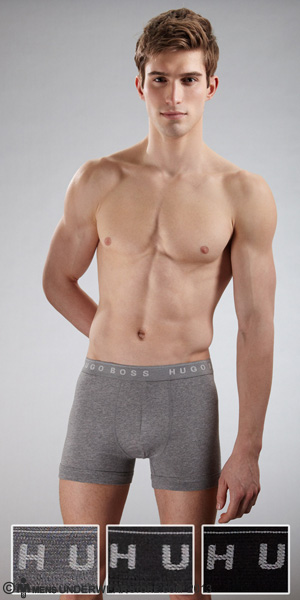 HUGO BOSS Perfect Cotton Boxer Brief 3-Pack