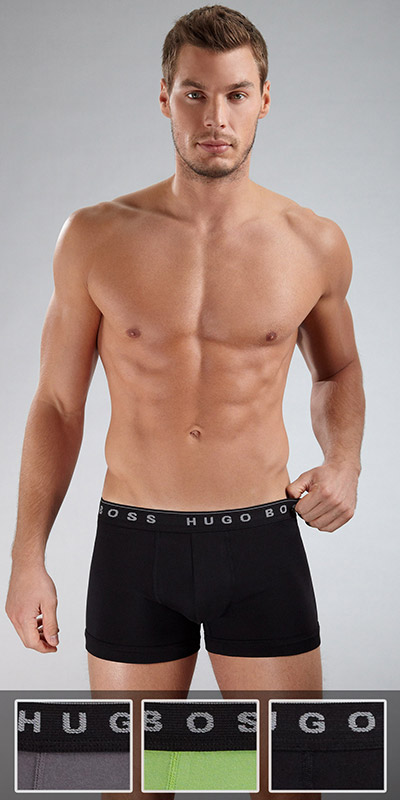 HUGO BOSS Boxer Briefs 3-Pack