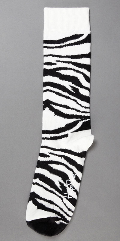 Happy Socks Zebra Sock