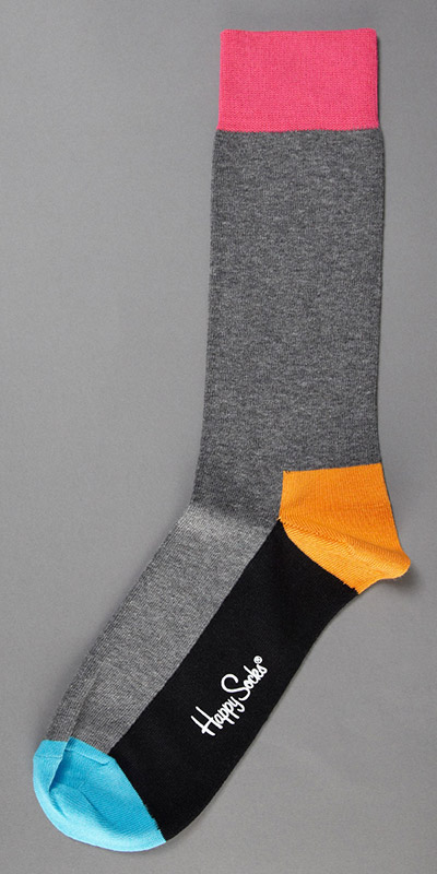 Happy Socks Five Colour Sock