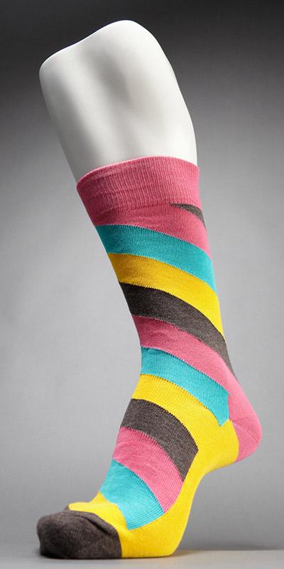 Happy Socks Polka Stripe Sock