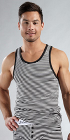 James Tudor Stripe Regal Tanks