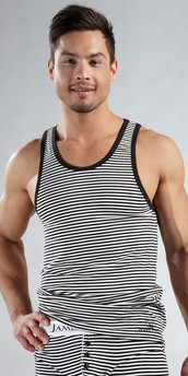 James Tudor Stripe Regal Tank Top