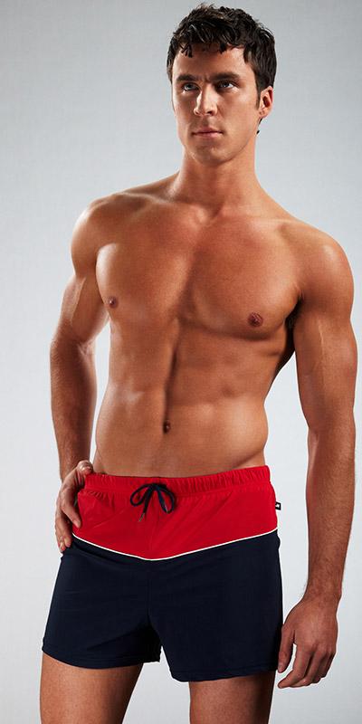 JM Waves Loose Boxer Swimsuit