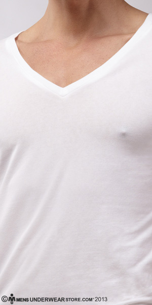 N2N Bodywear Cotton V-Neck T-Shirt