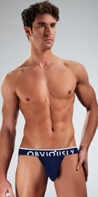 Obviously Chromatic Low Rise Jock Strap with Anatomical Pouch
