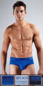 2XIST Essential 3-Pack Contour Briefs
