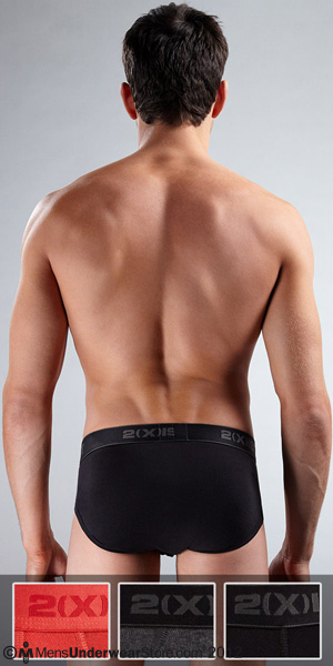 2XIST 3-Pack Contour Brief