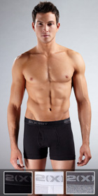 2XIST Essential 3-Pack Boxer Briefs