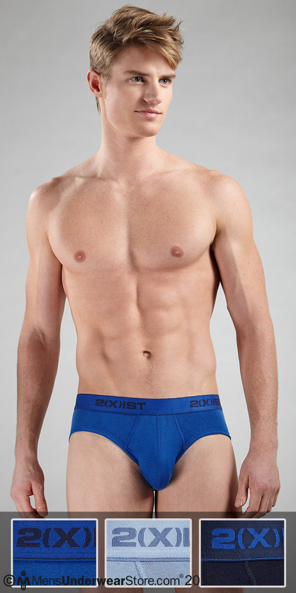 2XIST 3-Pack No Show Brief