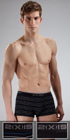 2XIST New Stretch 2-Pack No-show Trunk