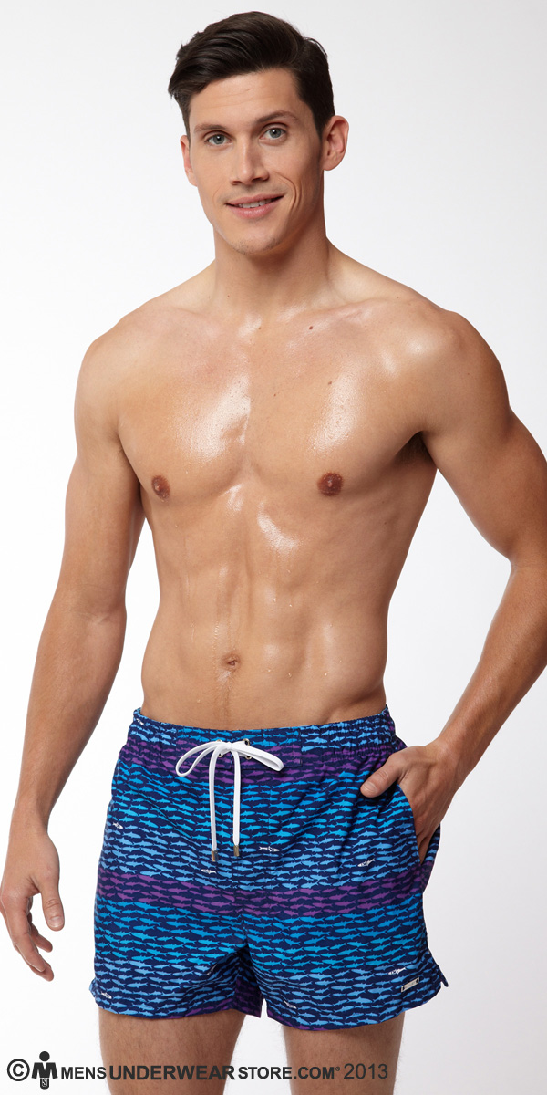 2XIST Ibiza School Of Fish Swimsuit