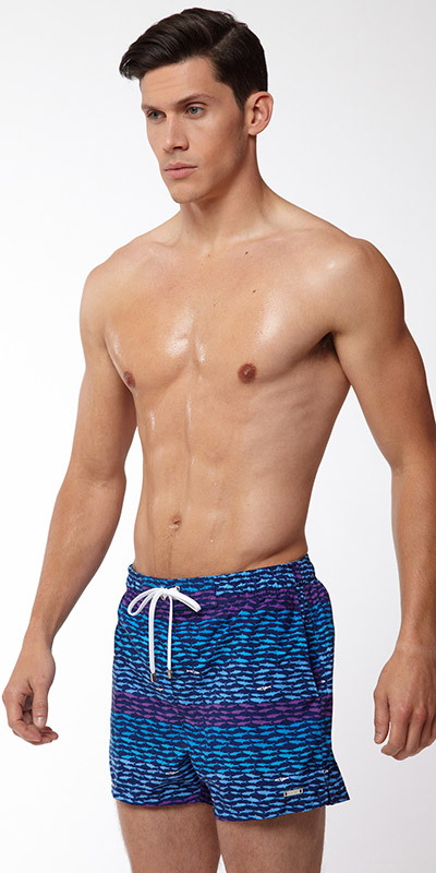 2XIST Ibiza School Of Fish Swimsuit