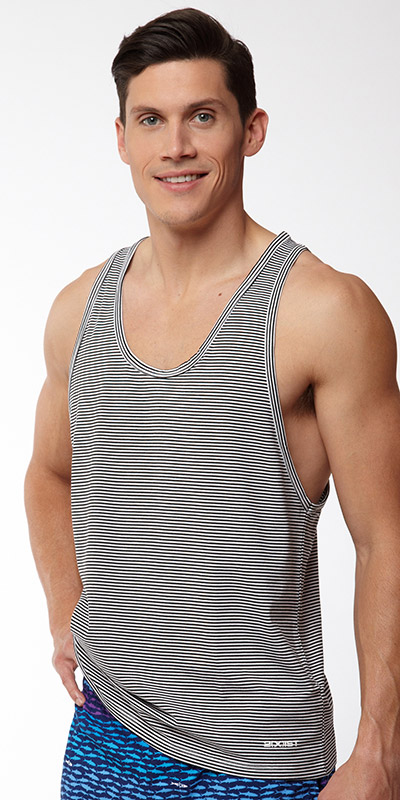 2XIST Striped Tank Top