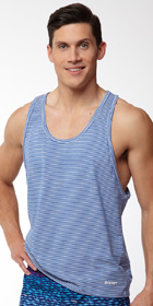 2XIST Striped Tank
