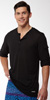 2XIST Button Front Long Sleeve T-Shirt