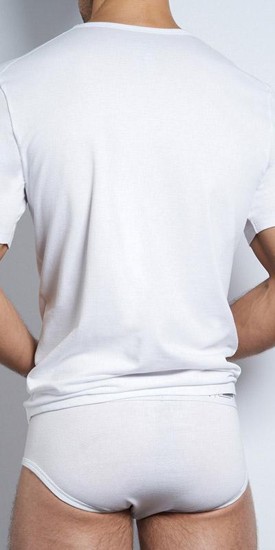 C-IN2 Multi Pack High V-Neck T-Shirt