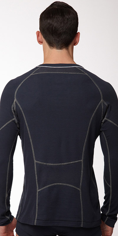 C-IN2 Grip Long Sleeve Crew Neck Shirt