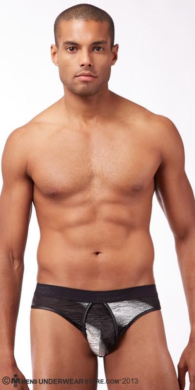 Male Power Metallic Streak Enhancing Bikini