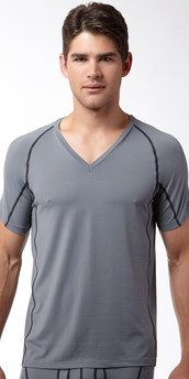 Calvin Klein Athletic V-Neck T-Shirt