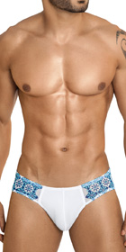 Clever Diamonds Mesh Brief