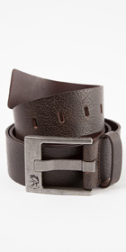 Diesel Leather Bausr Service Belt