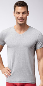 Diesel Under Denim Michael Short-Sleeve V-Neck