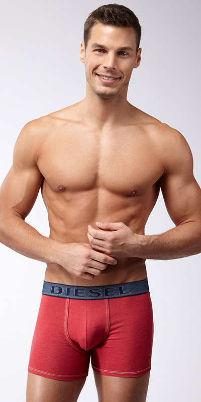 Diesel Under Denim Sebastian Boxer Briefs