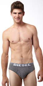 Diesel Stretch Cotton Blade Brief