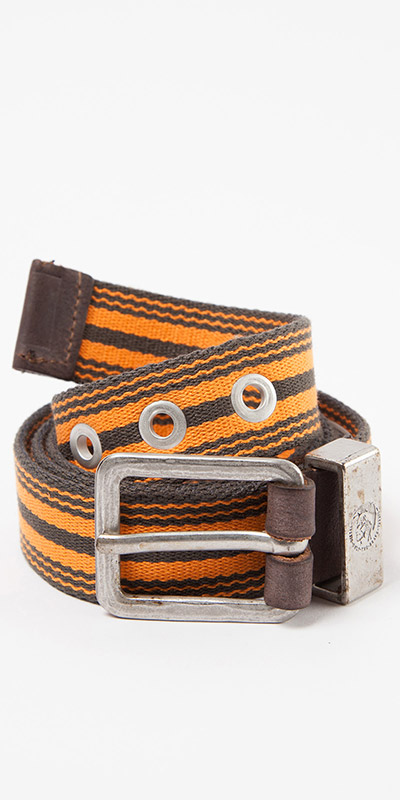 Diesel Striped Btapes Service Belt