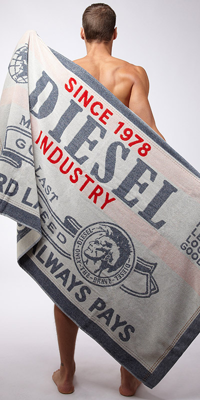 Diesel Industry Beach Towel