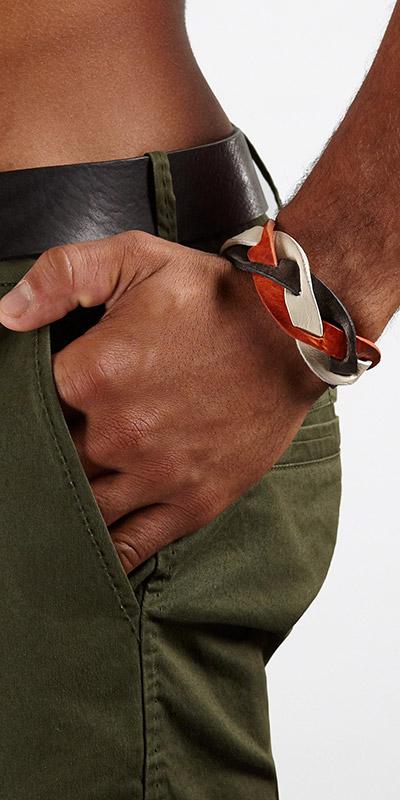 Diesel Abraid Wrist Strap