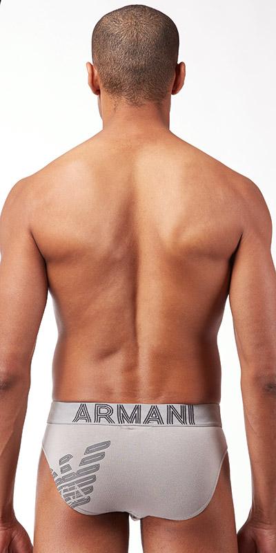 Emporio Armani Big Eagle Stretch Cotton Knit Brief