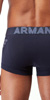 Emporio Armani Big Eagle Stretch Cotton Knit Trunk