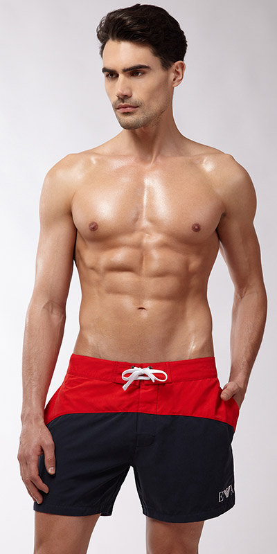 Emporio Armani Two Tone Swim Short