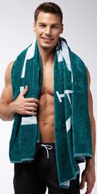 Emporio Armani Big Logo Towel
