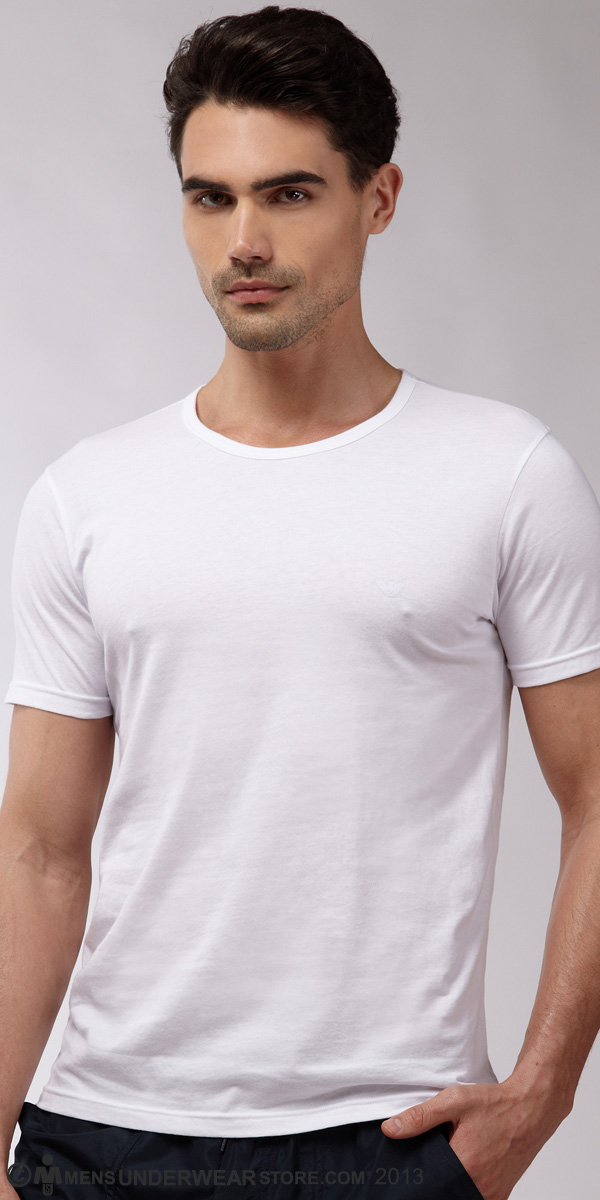 Emporio Armani Genuine Cotton 3-Pack T-Shirt