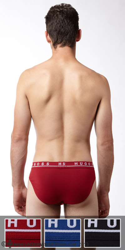 Hugo Boss Stretch Cotton Mini Brief 3-Pack