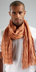 HUGO BOSS Linen Scarf