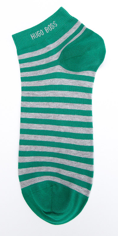 HUGO BOSS Marc Colours Stripe Ankle Sock