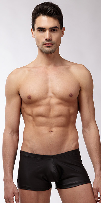 N2N Bodywear Black Short