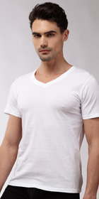 N2N Bodywear Basic V-Neck Shirt