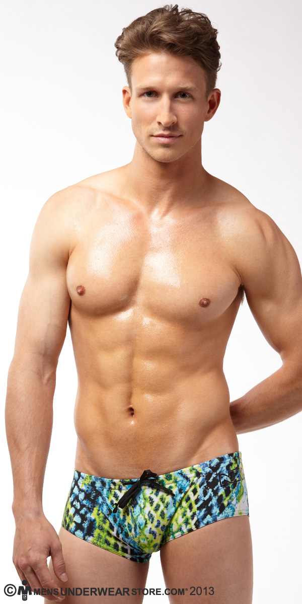 N2N Bodywear Pulse Swim Trunk