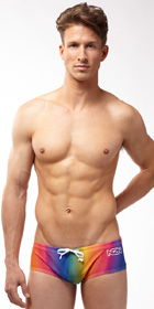 N2N Bodywear Prism Swim Trunk
