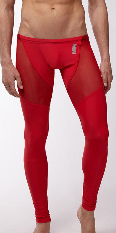 N2N Bodywear Sheer Running Pants