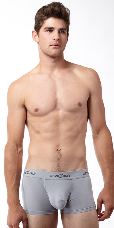 Obviously Basic Low Rise Boxer Briefs with Anatomical Pouch