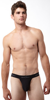 Obviously Basic Low Rise Bikini Brief with Anatomical Pouch